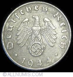 5 Reichspfennig 1944 D