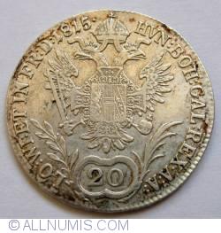 Image #2 of 20 Kreuzer 1815 A