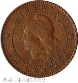 Image #1 of 1 Centavo 1884