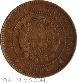 Image #2 of 1 Centavo 1884