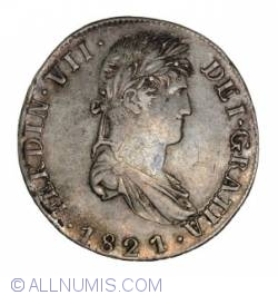 Image #1 of 8 Reales 1821 Zs