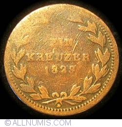 Image #2 of 1 Kreuzer 1829 D