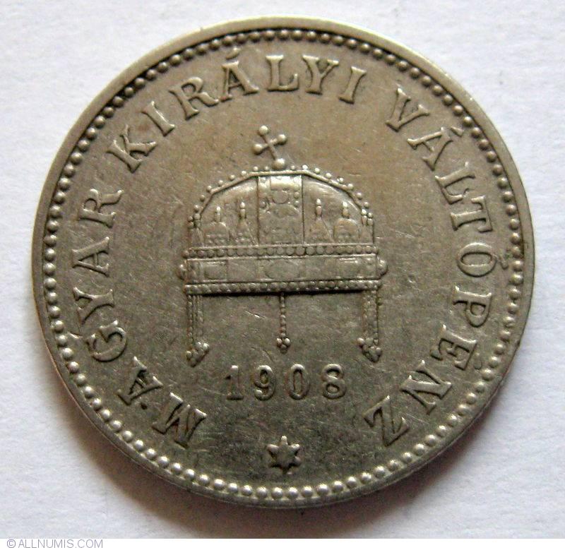 20 Filler 1908, Franz Joseph I (1848-1916) - Hungary - Coin - 19724