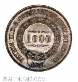 Image #2 of 1000 Reis 1859