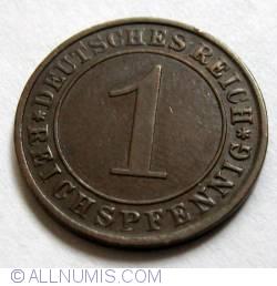 Image #1 of 1 Reichspfennig 1925 A
