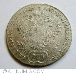Image #2 of 20 Kreuzer 1828 E