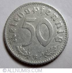Image #1 of 50 Reichspfennig 1943 G