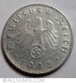 Image #2 of 50 Reichspfennig 1943 G