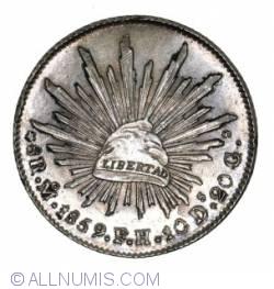 8 Reales 1859 Mo