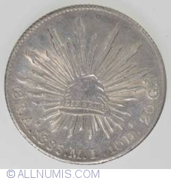 Image #1 of 8 Reales 1885 A