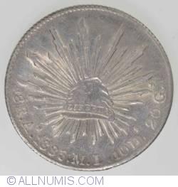 Imaginea #1 a 8 Reales 1885 A
