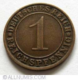 Image #1 of 1 Reichspfennig 1935 J
