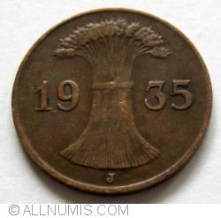 Image #2 of 1 Reichspfennig 1935 J