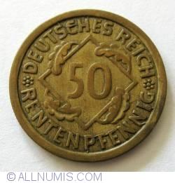 Image #1 of 50 Rentenpfennig 1924 G