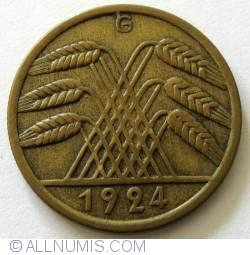 Image #2 of 50 Rentenpfennig 1924 G