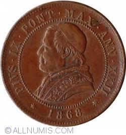 Image #1 of 4 Soldi 1868 / XXII