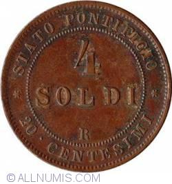 Image #2 of 4 Soldi 1868 / XXII