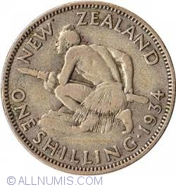Image #1 of 1 Shilling 1934