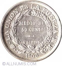 Imaginea #1 a 50 Centavos 1900