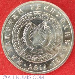 Image #1 of 50 Tenge 2011 - 20 Years of Independence