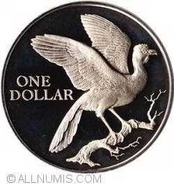 Imaginea #1 a 1 Dollar 1974 Cocrico