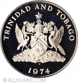 Imaginea #2 a 1 Dollar 1974 Cocrico