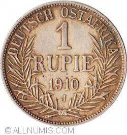 Imaginea #1 a 1 Rupie 1910 J