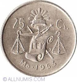 Image #1 of 25 Centavos 1953