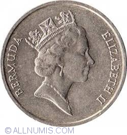 Image #2 of 5 Cents 1986