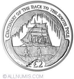 Image #2 of 2 Pounds 2010 PM - Centenary of the Race to the South Pole.