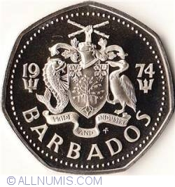Image #2 of 1 Dollar 1974 Franklin Mint