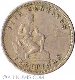 Imaginea #2 a 5 Centavos 1903