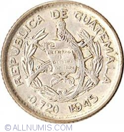 Image #2 of 5 Centavos 1945