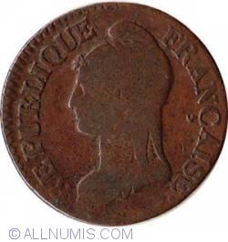 5 Centimes 1799-1800 (L'An 8) AA