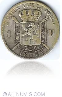 Image #1 of 1 Franc 1869