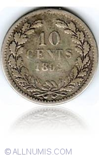 Image #1 of 10 Cents 1892