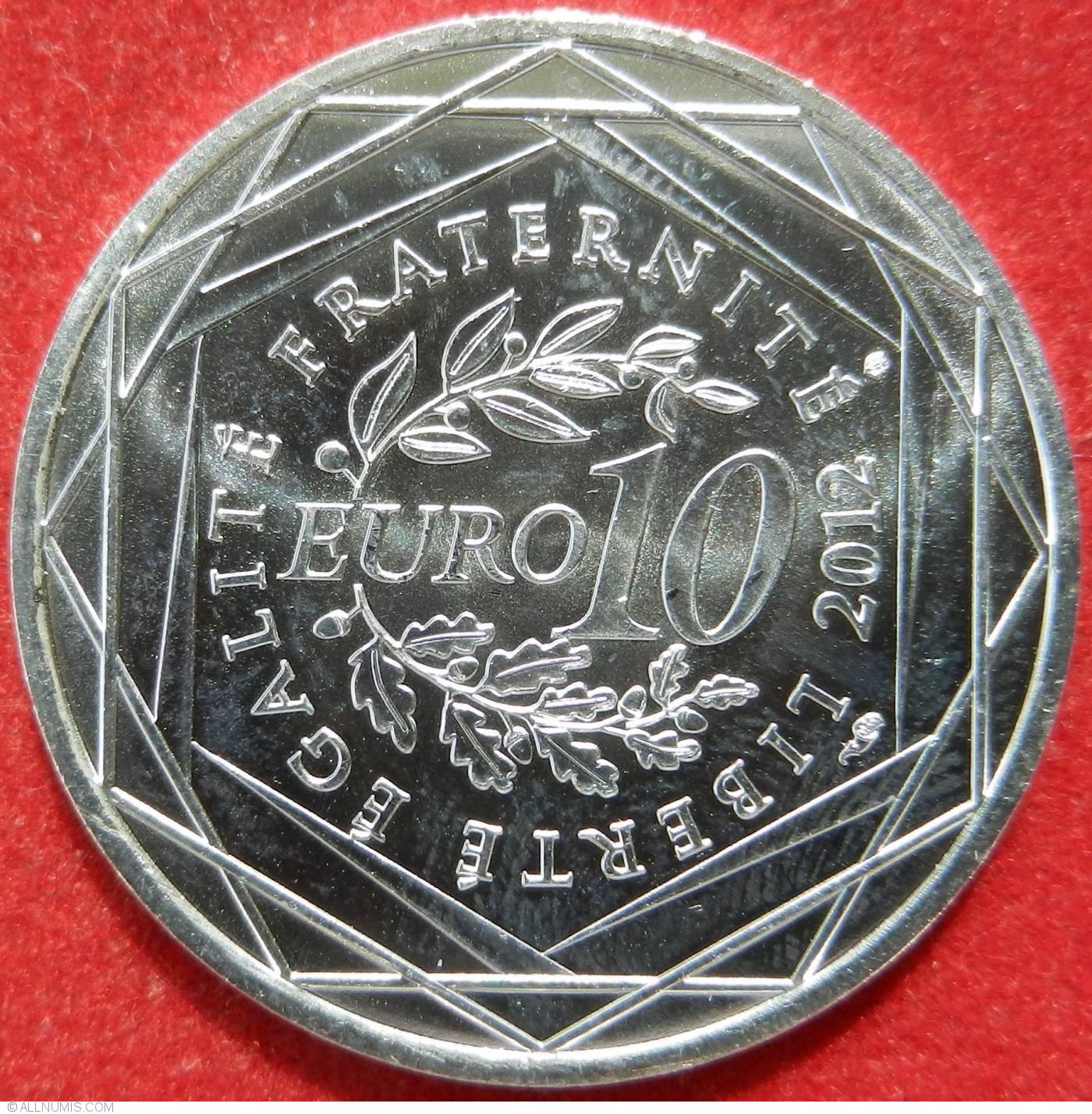 10 euros 2012 euro 2010 2019 france coin 22472. Black Bedroom Furniture Sets. Home Design Ideas