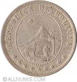 Imaginea #2 a 5 Centavos 1897