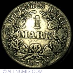 Image #1 of 1 Mark 1873 B
