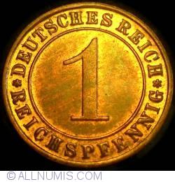 1 Reichspfennig 1933 F