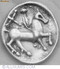Image #1 of Dacian coin - DUMBRAVENI type