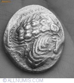 Image #2 of Dacian coin - DUMBRAVENI type
