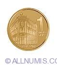 Imaginea #2 a 1 Dinar 2004 - Aniversarea a 120 de ani de la infiintare Bancii Nationale a Serbiei