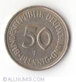 Imaginea #1 a 50 Pfennig 1991 F
