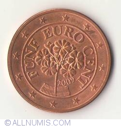 Image #2 of 5 Euro Cent 2009