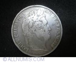 Image #1 of 5 Francs 1833 (BB)
