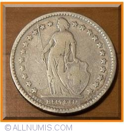 Image #2 of 2 Francs 1886