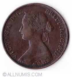 Halfpenny 1873