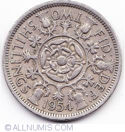 Image #1 of 1 Florin 1954