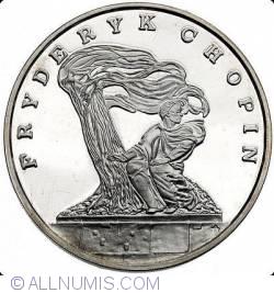 Image #1 of 100000 Zlotych 1990 - Fryderyk Chopin